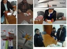 Boj proti hladu - Albánsko - nákup - liekov - 2017