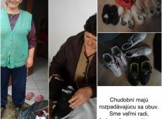 Boj proti hladu - Albánsko - obuv - 2017