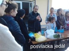 Boj proti hladu - Albánsko - Posvätenie jedla - 2017