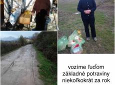 Boj proti hladu - Albánsko - Potraviny - 2017