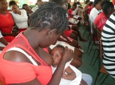 Haiti centrum výživy Cité Soleil 2018, fotka 2