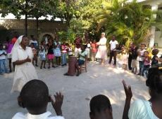Haiti Goanives škola sv. Fa 2018, fotka 11