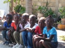 Haiti Goanives škola sv. Fa 2018, fotka 12
