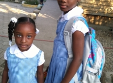 Haiti škola Jána Pavla II. 2018, fotka 16