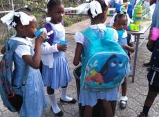 Haiti škola Jána Pavla II. 2018, fotka 17