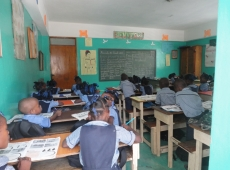Haiti škola sv Lujzy Cité Soleil 2018, fotka 21