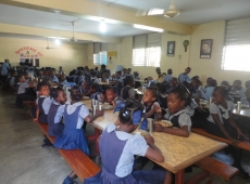 Haiti škola sv Lujzy Cité Soleil 2018, fotka 23