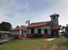 Starý kostol z roku 1986